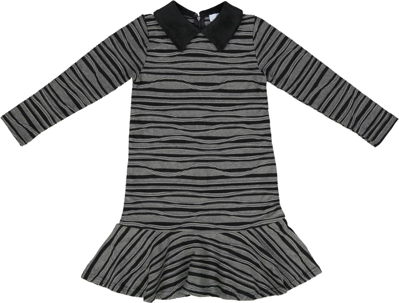 Whitlow & Hawkins Girls Zebra Stripe Dress - WHF191007