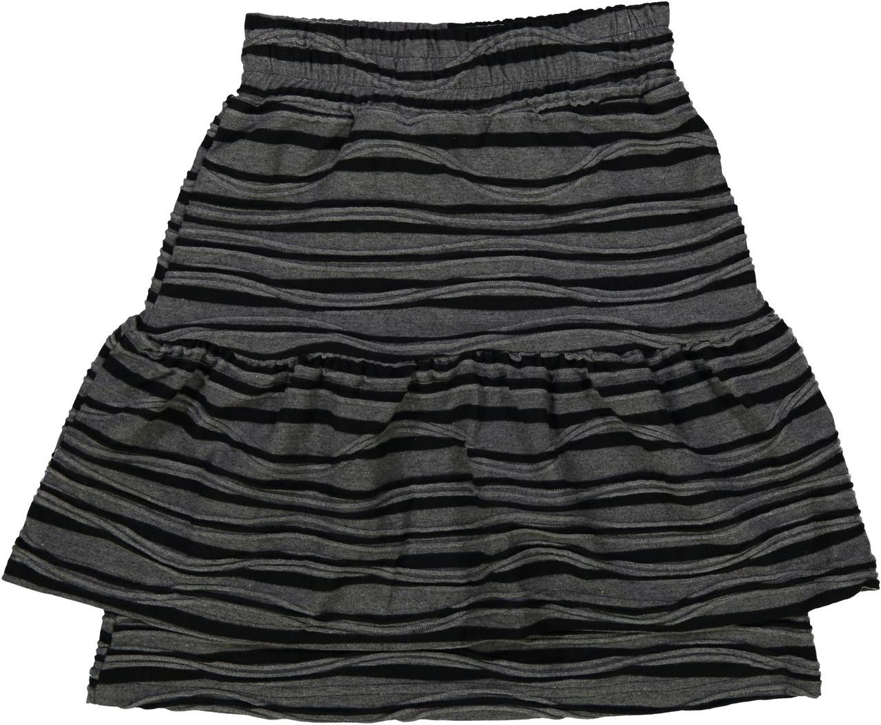 Whitlow & Hawkins Girls Zebra Stripe Skirt - WHF192006