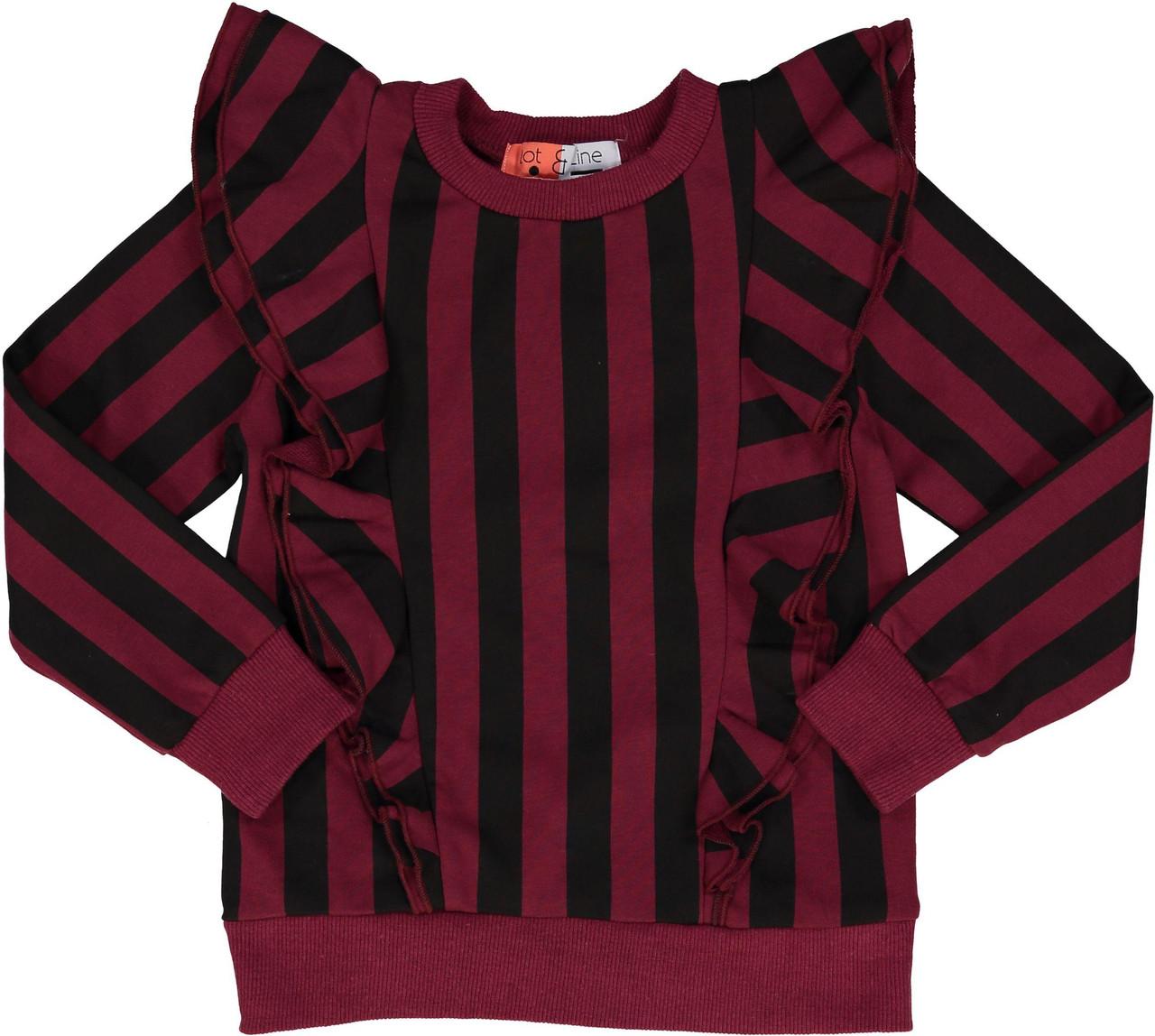 Dot & Line Girls Striped Sweatshirt - DW1933-A