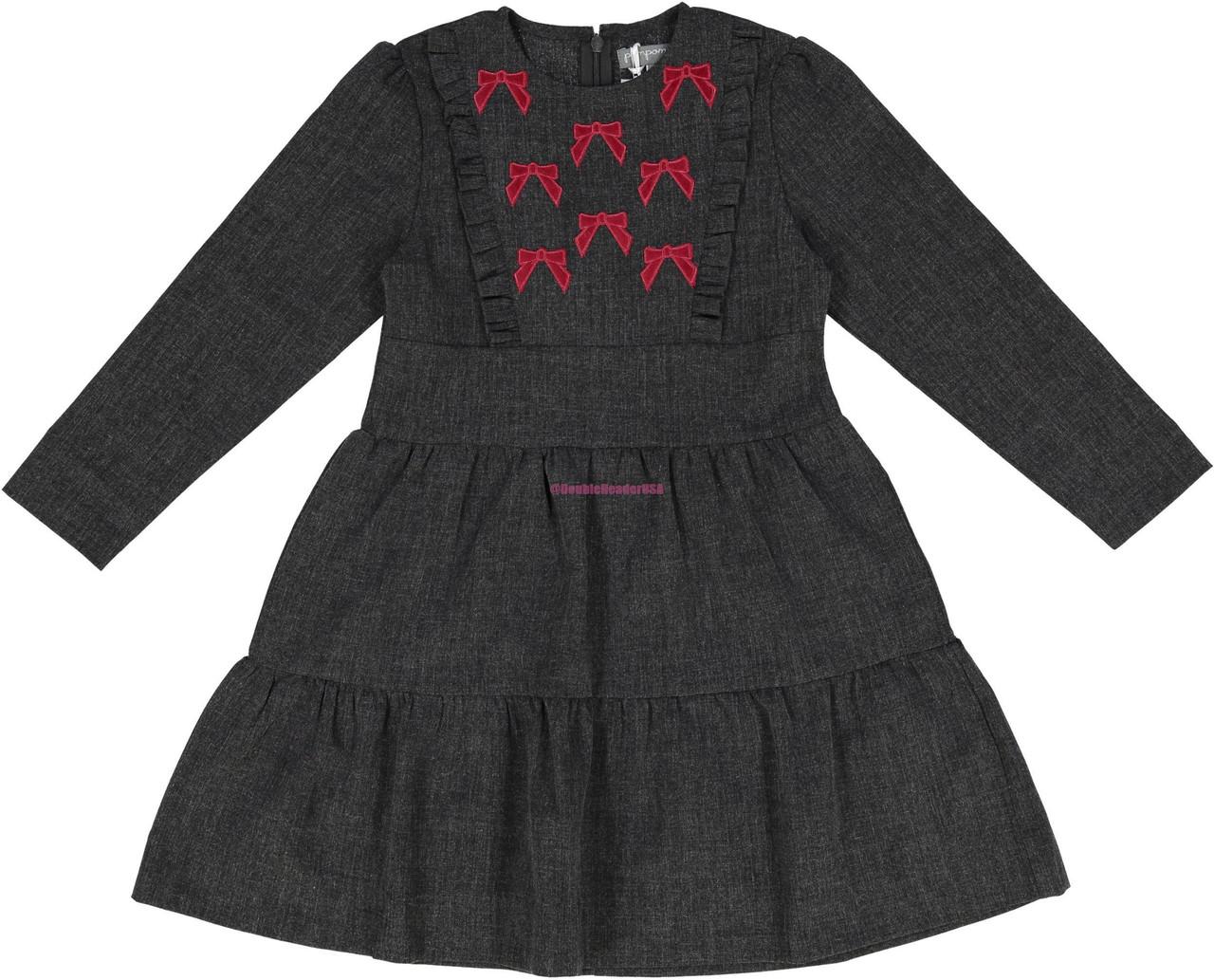 Pompomme Girls Tier Dress - 8408CH