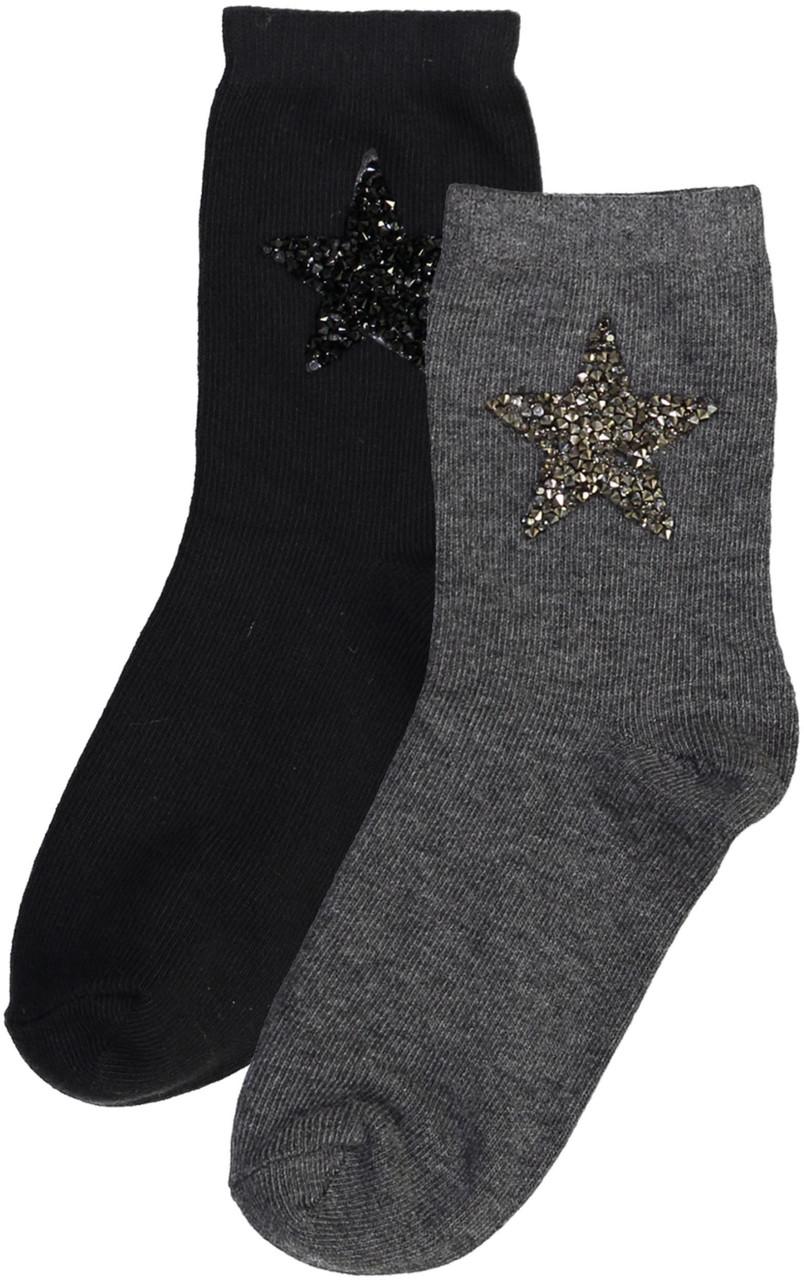 Zubii Girls Sparkle Star Anklet Socks - 582-288