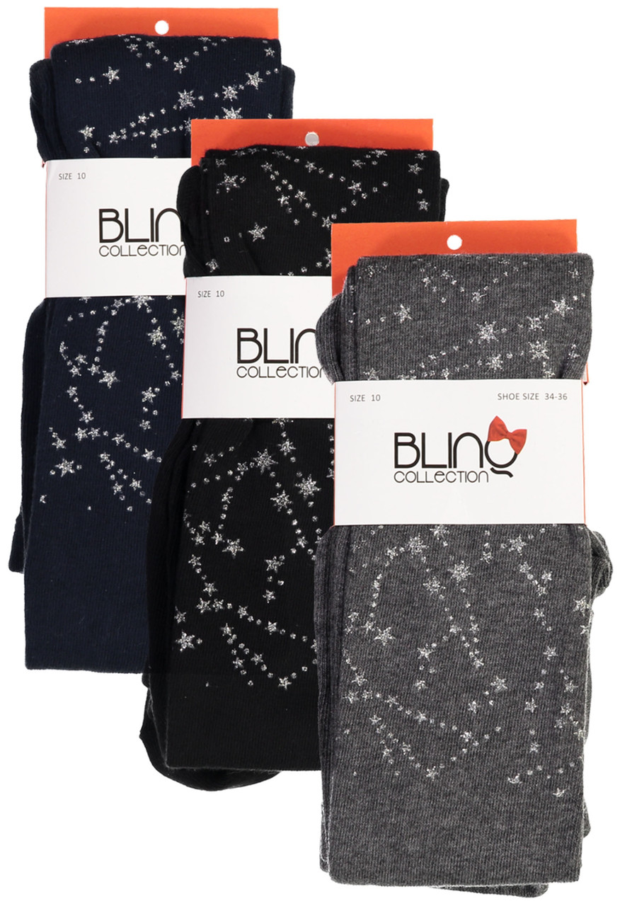 BlinQ Girls Galaxy Cotton Tights - 2019513