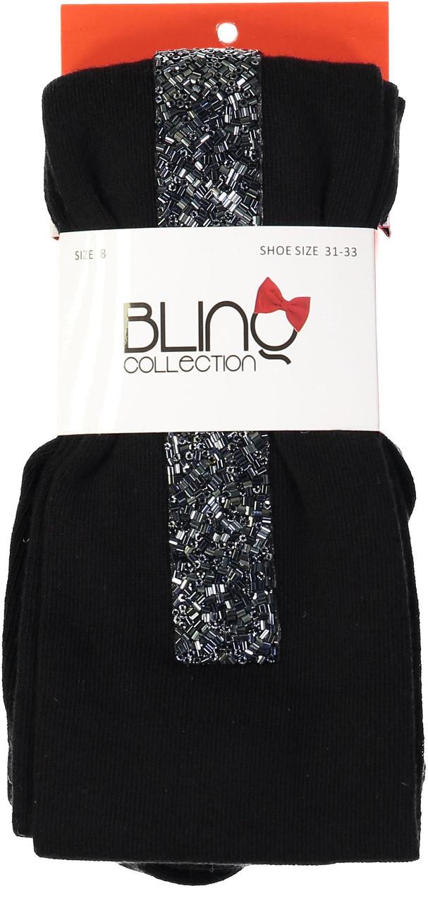 BlinQ Girls Bead Strip Cotton Tights - 2019517
