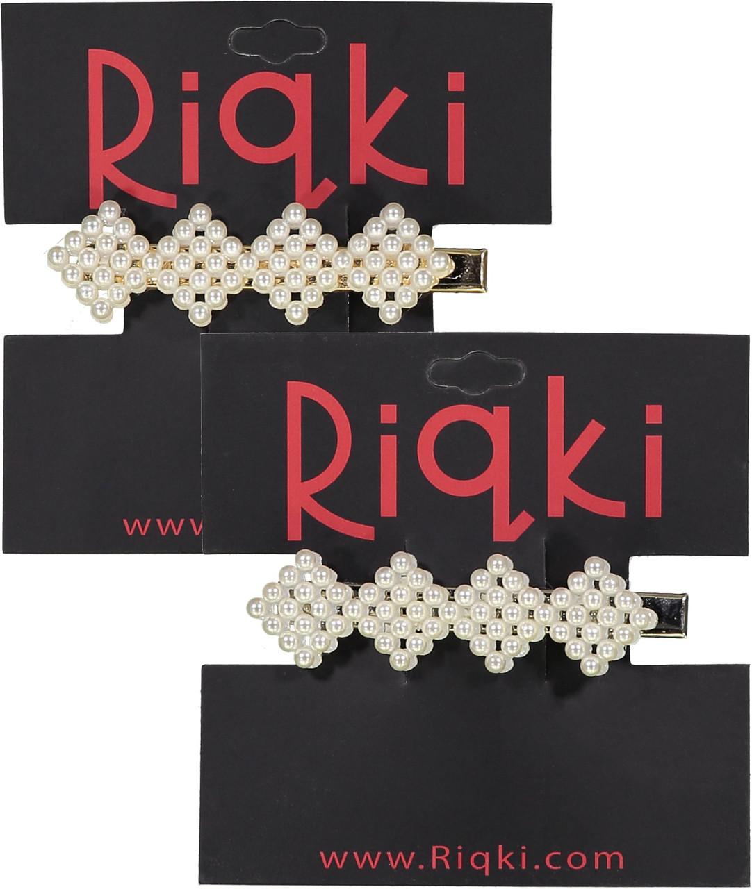 Riqki Diamond Pearl Hair Clip