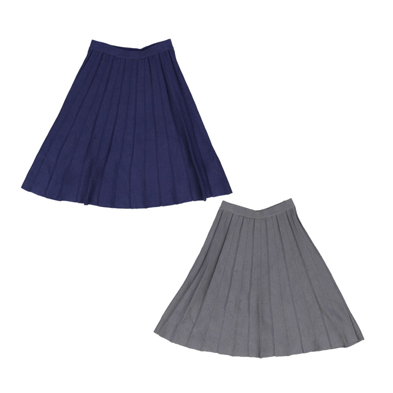 BGDK Girls Panel Knit Skirt