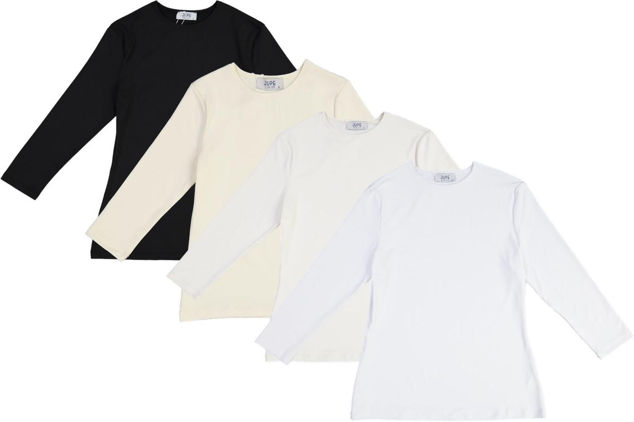 Jupe Womens Lycra 3/4 Sleeve Shell T-shirt - JE-JH260Q