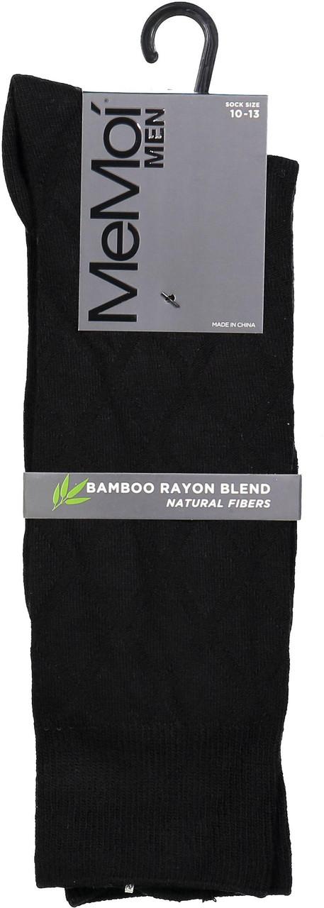 Memoi Mens Bamboo Diamond Socks - MM-502