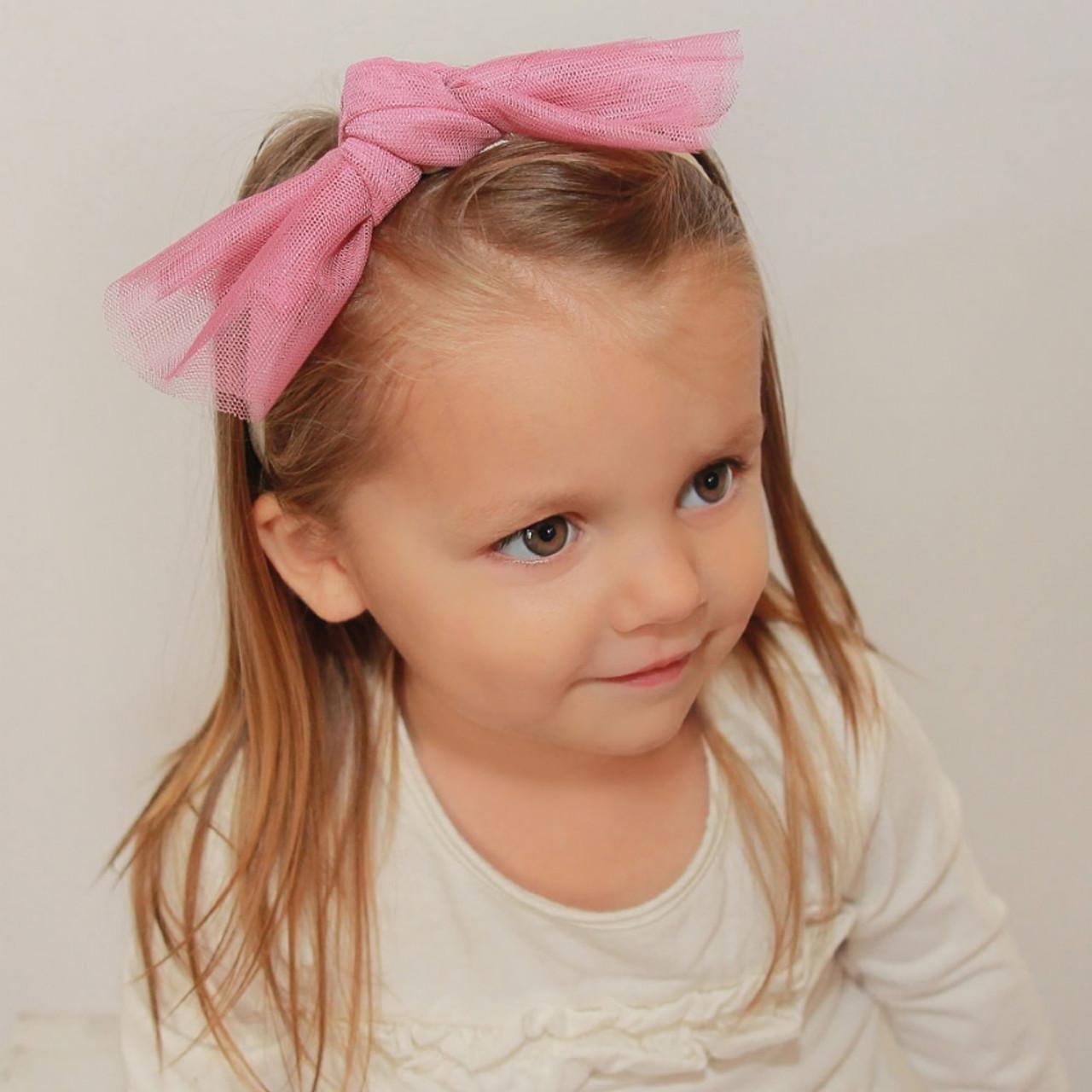 Riqki Baby Mesh Knot Headband - Double Header USA 5dca6731119