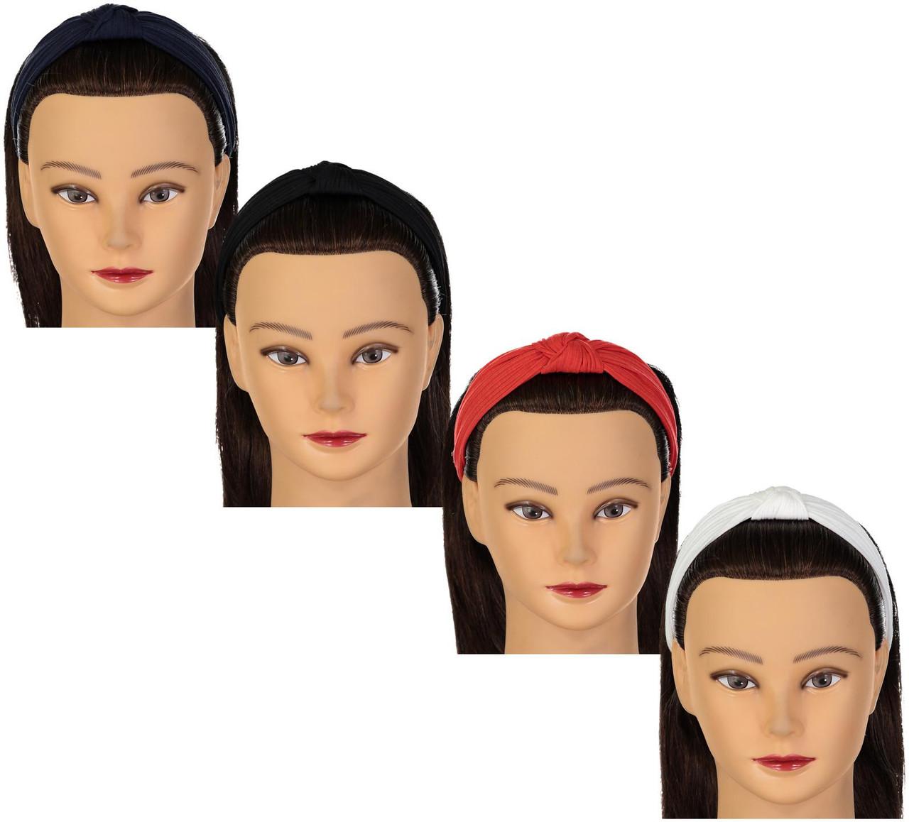 Riqki Girls Ribbed Turban Knot Headband - GYH8104