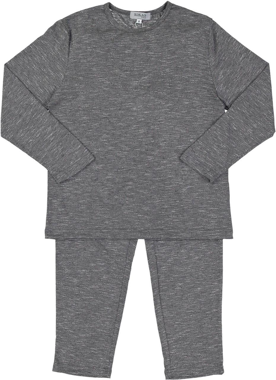 Kokao Unisex Heather Cotton Pajamas - PS02P