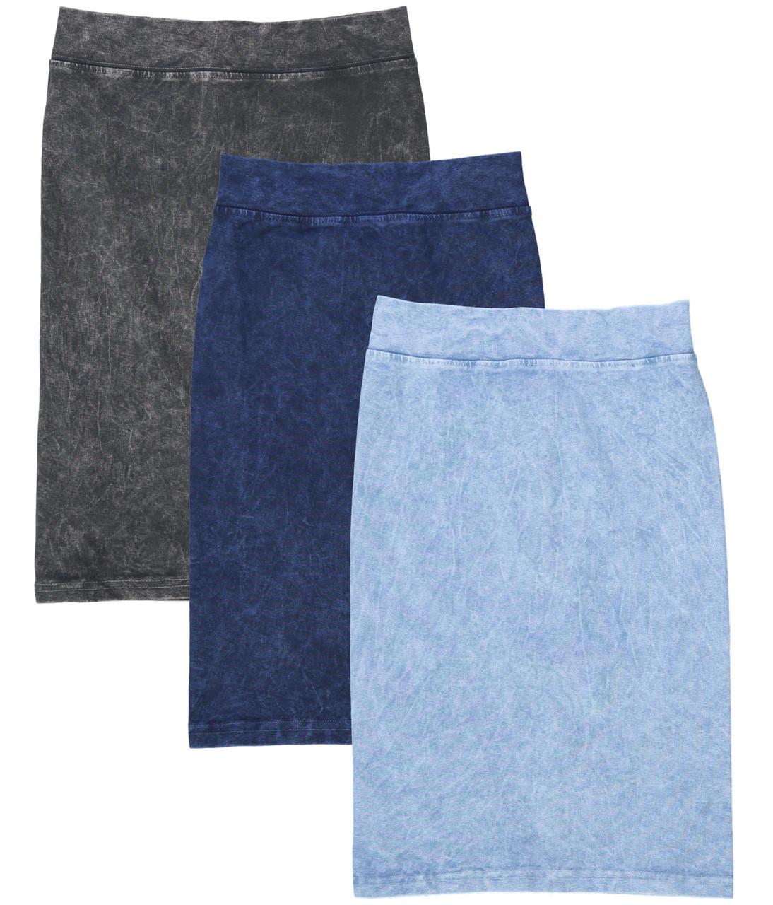 Kiki Riki Stone Wash Kids Pencil Skirt