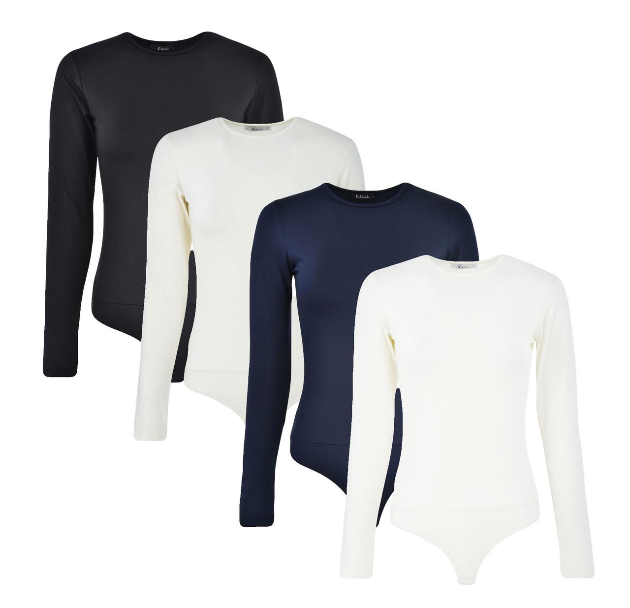 Kiki Riki Long Sleeve Lycra Bodysuit