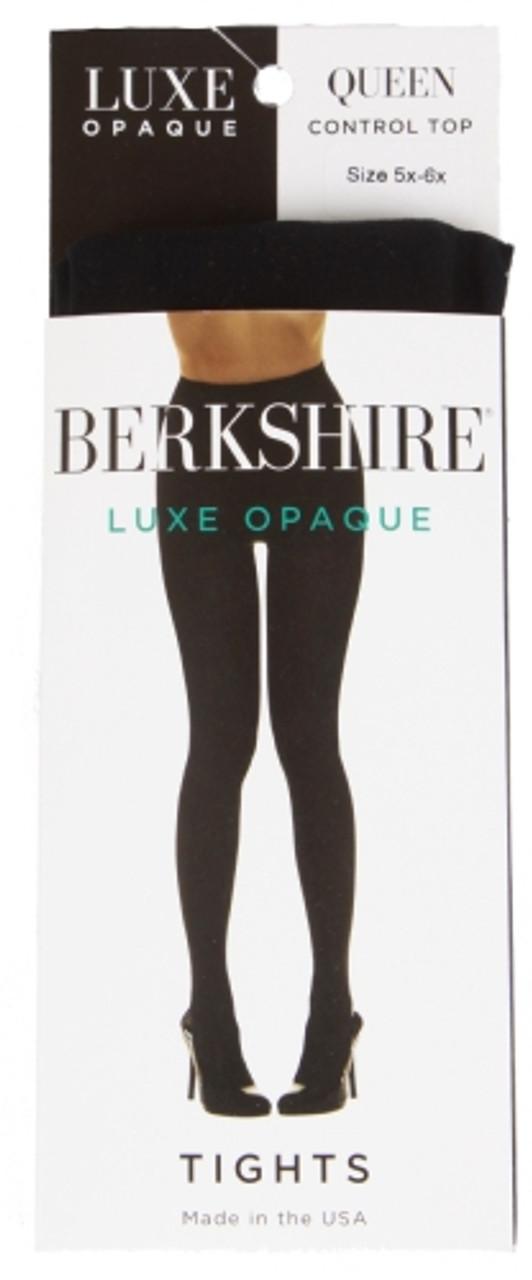 Berkshire Footless Shimmers Black Tights Regular Size 1-2