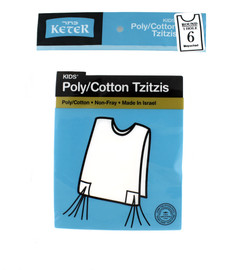 Arba Kanfos Poly/Cotton Tzitzis