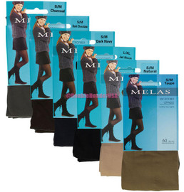 Melas Womens Opaque Control Top 60 Denier Tights - AT-636