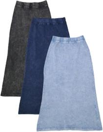 Kiki Riki Girl's Stone Wash Long Skirt