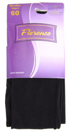 Florence Womens Mircofiber 60 Light Support Tights
