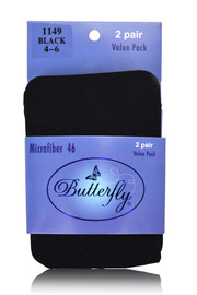 Butterfly Microfiber 46 Tights 2-Pack