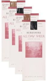 Berkshire Womens All Day Sheer Knee Hi - 6451