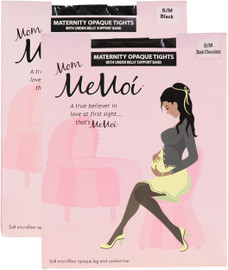 Memoi Womens Maternity Opaque Tights