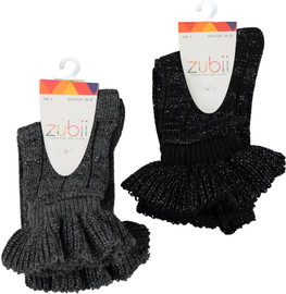 Zubii Knit Upruffle Ankle Sock
