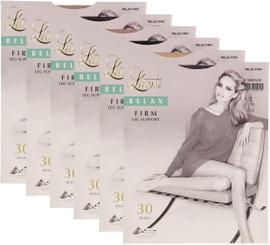Levante Womens Relax Firm Satin Leg Support 30 Denier Pantyhose