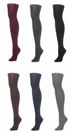 Memoi Womens Sweater Flat Knee Tights