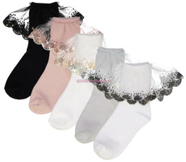 ZUBII GIRLS ANKLE SOCKS - 422
