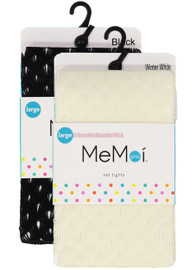 Memoi Girls Deco Net Tights