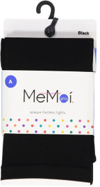 Memoi Girls Completely Opaque Footless Tights