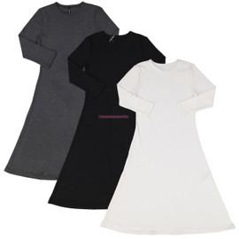 Kiki Riki Womens Ribbed Dress
