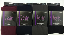 Violet 2 Pack Shaper Control Tights