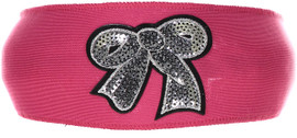 Gift Bow Patch Headband