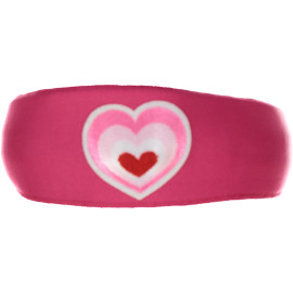 Multi Color Heart Patch Headband