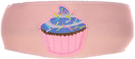 Cupcake Sprinkles Patch Headband