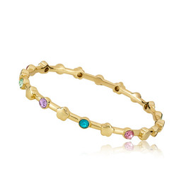 LMTS Girls Stackable Flower Bangle