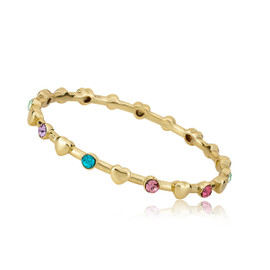 LMTS Girls Stackable Heart Bangle
