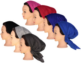 Riqki Womens Cotton Pre-Tied Bandana