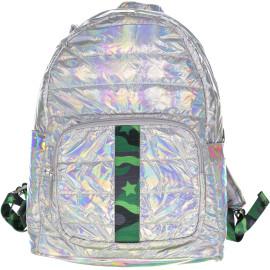 Top Trenz Green Camo Backpack