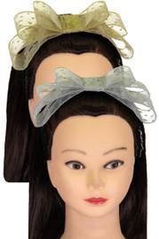 Riqki Girls Headband - HB1902 - Star Mesh