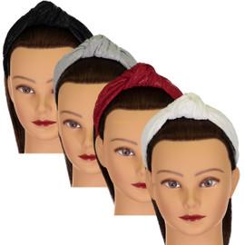 Riqki Girls Headband - HB1904 - Leather Burnout Turban