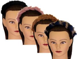 Riqki Girls Fur Headband - HB1909