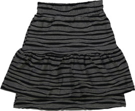 Whitlow & Hawkins Girls Zebra Stripe Skirt - WHF192006