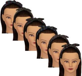 Riqki Girls Metallic Stripe Headband - YHB-2659