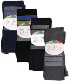 Zubii Girls Colorbar Cotton Tights - 530