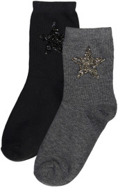 Zubii Girls Sparkle Star Anklet Socks - 582-288