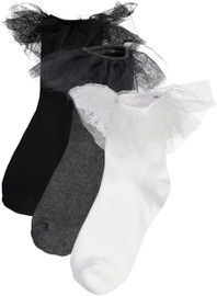 Zubii Girls Tutu Anklet Socks - 730