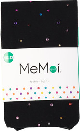 Memoi Girls Multi Stone Tights - MKF-4009