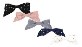Dacee Hair Clip - A1240 - Scattered Stones Bow