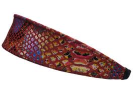 Riqki Maroon Soft Headband